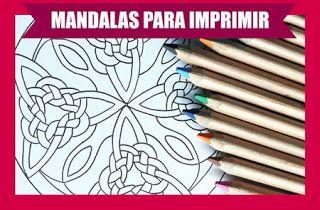 Actividades para Educación Infantil: Cuadernillo de mandalas para imprimir