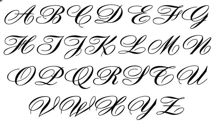 fancy calligraphy alphabets - Google Search | Calligraphy ...