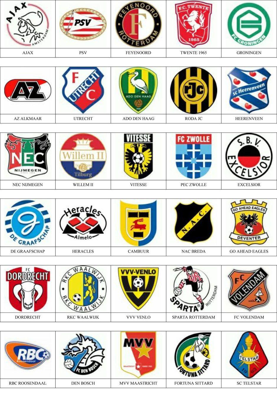 Kleurplaten Voetbal Logo Ajax.Nederland Soccer Voetbal En Logo S