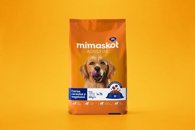 Mimaskot Brandlab Carne Empaques Vegetales