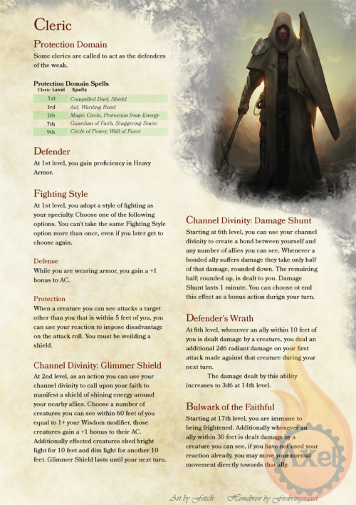 Pin by Bill Hinton on Archetypes | Dungeons, dragons cleric