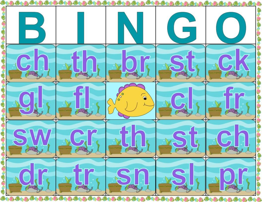 Use Gold Fish Or Swedish Fish As Bingo Markers To Practice