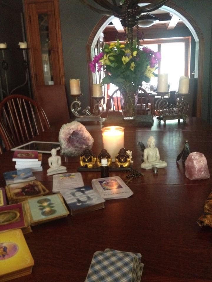 How To Create A Sacred Space For Your Tarot Readings Biddy Tarot Blog Tarot Reading Sacred Space Tarot Reading Room