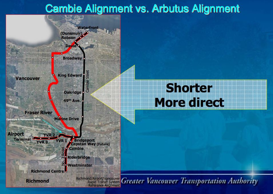 Image result for arbutus greenway map Image
