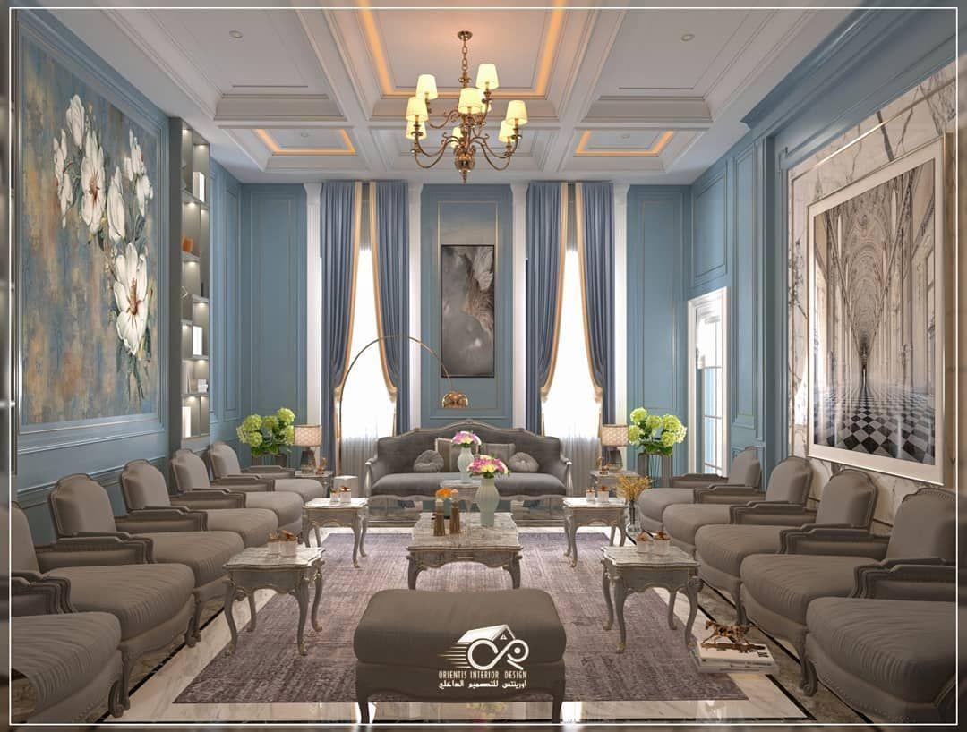 تصميم وتنفيذ صالة جلوس نيو كلاسيك فخمة تصاميم خليجية تصاميم داخلية تصاميم مجالس تصاميم عصرية مجالس رجال مجالس نساء مجالس أرض Home Style Home Decor