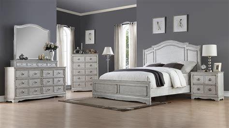 white bedroom furniture set queen Bridgeport 6 Piece Queen Bedroom