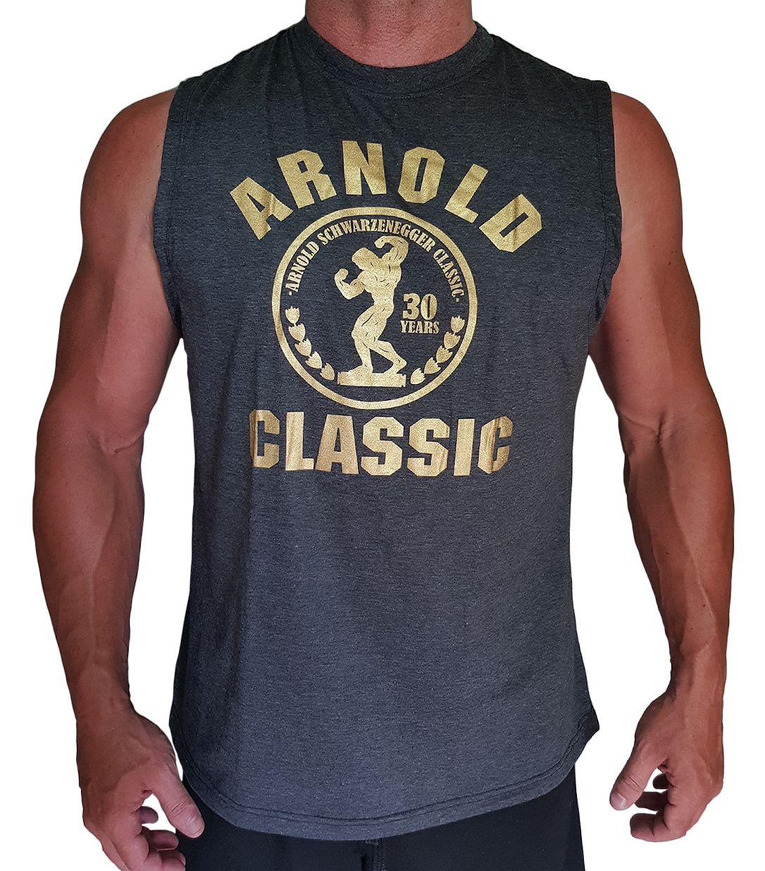 8a1ad279eed6c Muscleman Gear Arnold Classic Men s Stringer Tank Tops. Available On Amazon  Price   15.95