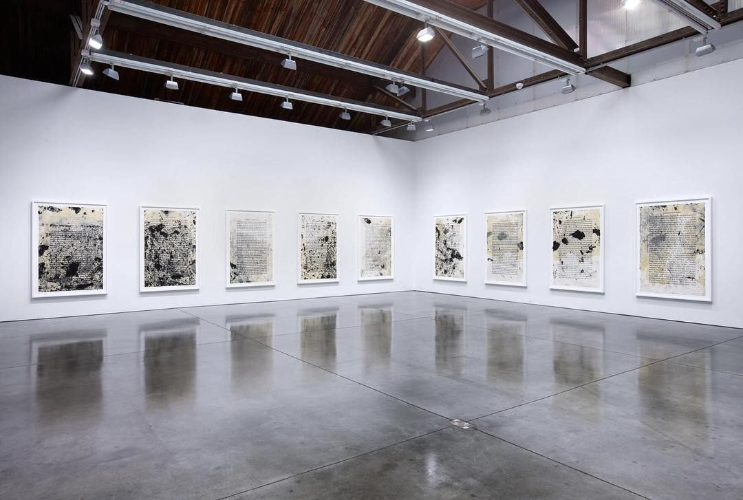"""Glenn Ligon: What We Said The Last Time"" | until 02.04.16 | on @luhringaugustine  #firstlookart #tuesdaytreat #weeklywisdom #dontmissthis #gallery #art #galleriesnow #newyork #artinnewyork #exhibition #installation #justopened #march #modern #contemporary #instaart #luhringaugustine #luhringaugustinegallery #glennligon #whatwesaidthelasttime"