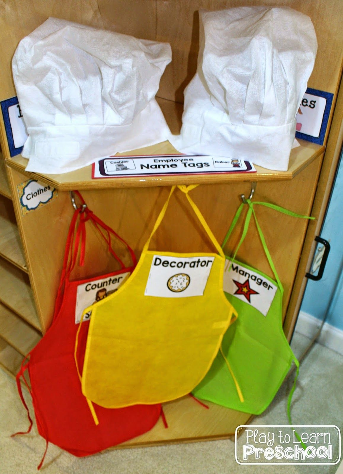 Cookie Shop Bakery Dramatic Play For Preschool Kindergarten Ideas