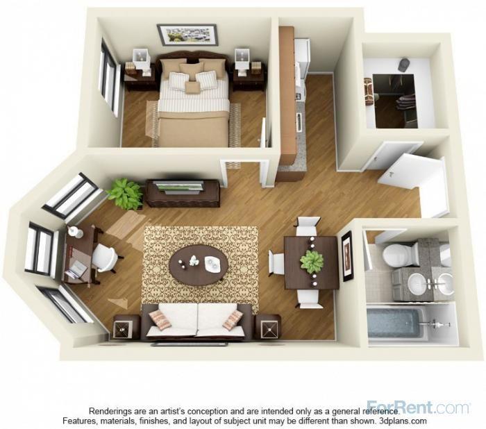 14 W. Elm Apartments Printers Row neighborhood; 1B options starting ...