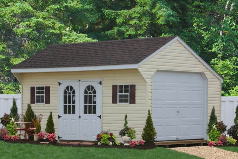 pa garage storage vinyl garages prefab sheds amish and pin from