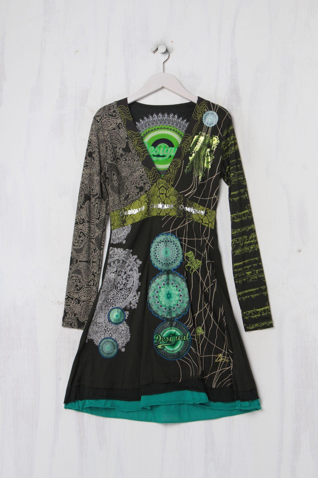 Desigual Kleid Second Hand Größe M   Desigual kleider ...