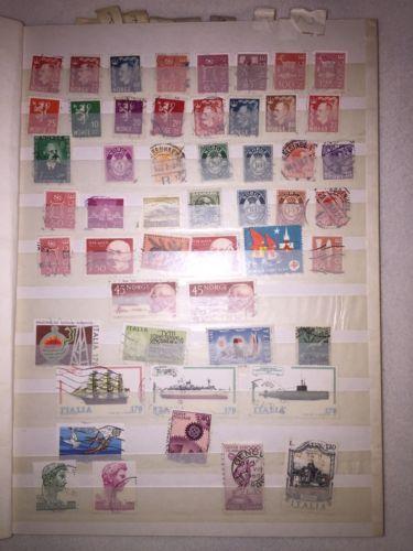 Briefmarkensammlung, Wertvoll, Briefmarken aus aller Weltsparen25