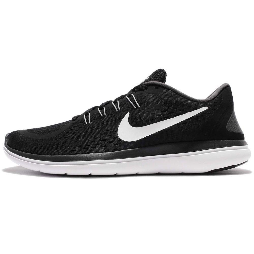 Nike Flex RN 2017 BlackWhiteAnthraciteCool Grey Men's