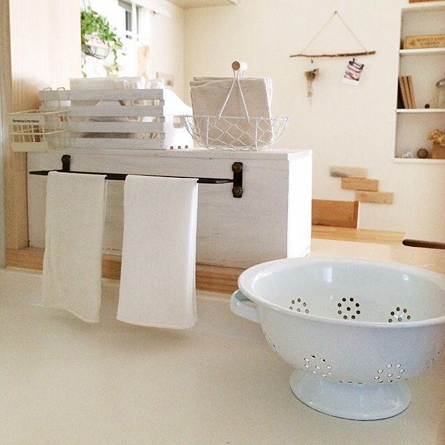ふきんはいつでも清潔が鉄則 ふきんの置き場所10選 収納 アイデア キッチン Diy インテリア