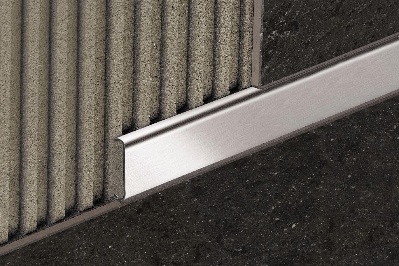 Schluter Designline Tile Installation Patterns Tile Edge Decor