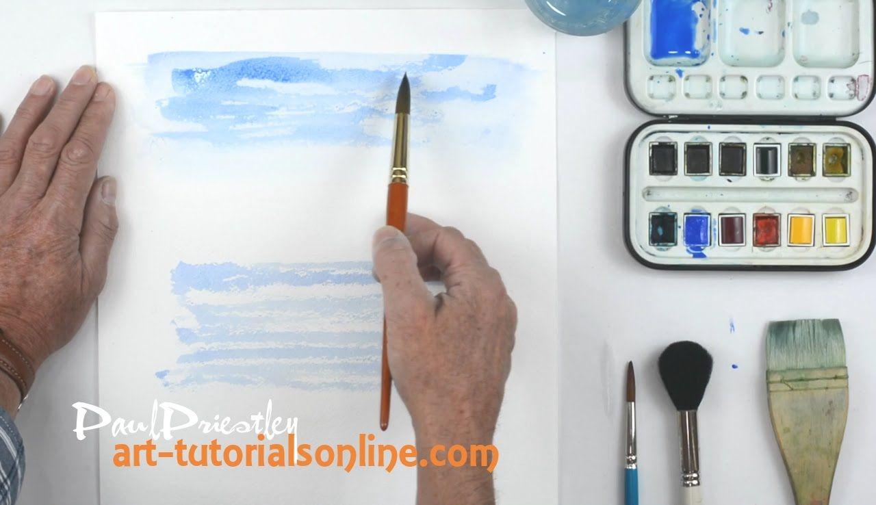 Start Painting Watercolour Basics Part 1 Watercolour