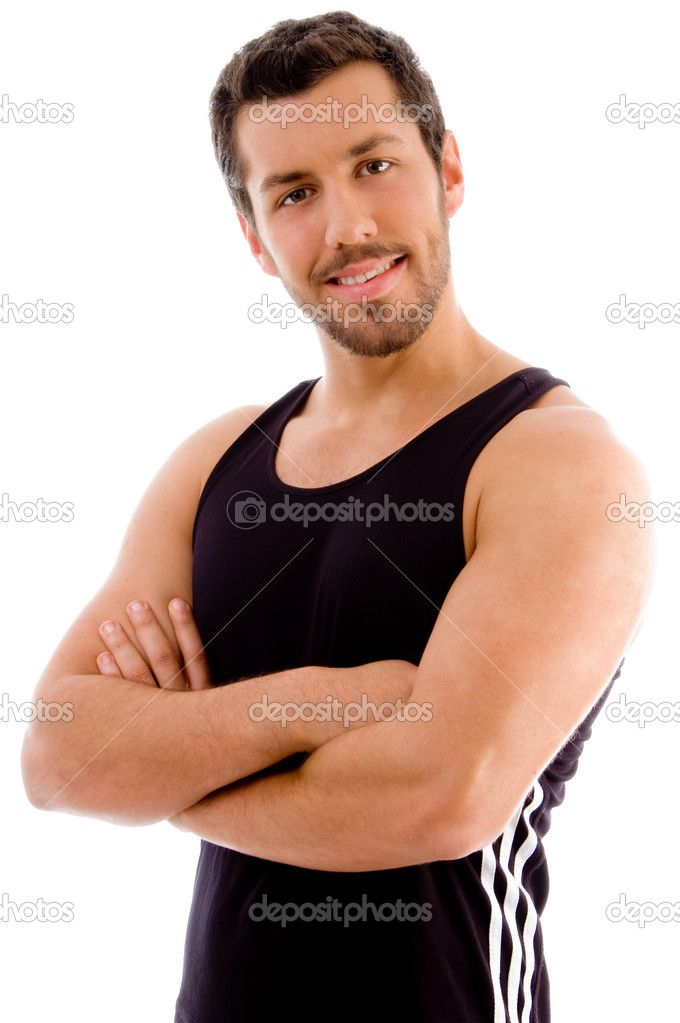 Depositphotos1351777 Young male with arms crossedjpg