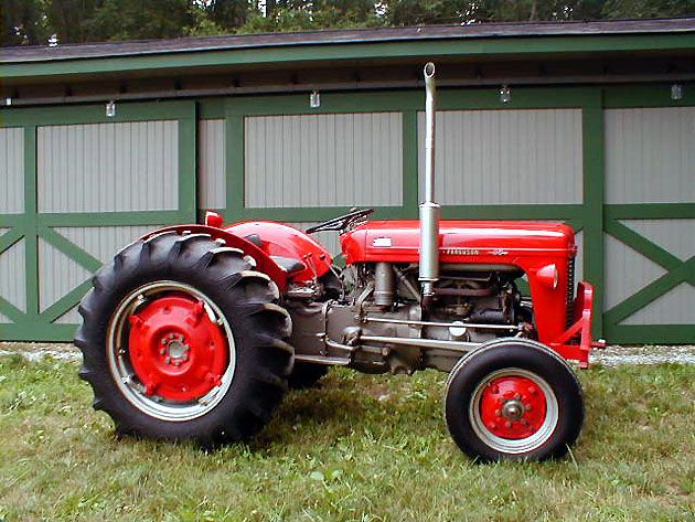 Massey Ferguson 35 Vintage Tractors Massey Ferguson Tractors