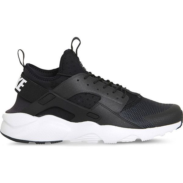 NIKE Air huarache run ultra neoprene and mesh trainers ($140) ❤ liked on  Polyvore