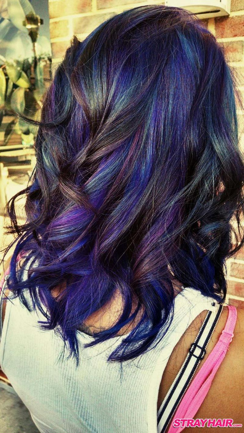 Amazing oil slick hair colorbeautypoint beautypoint pinterest