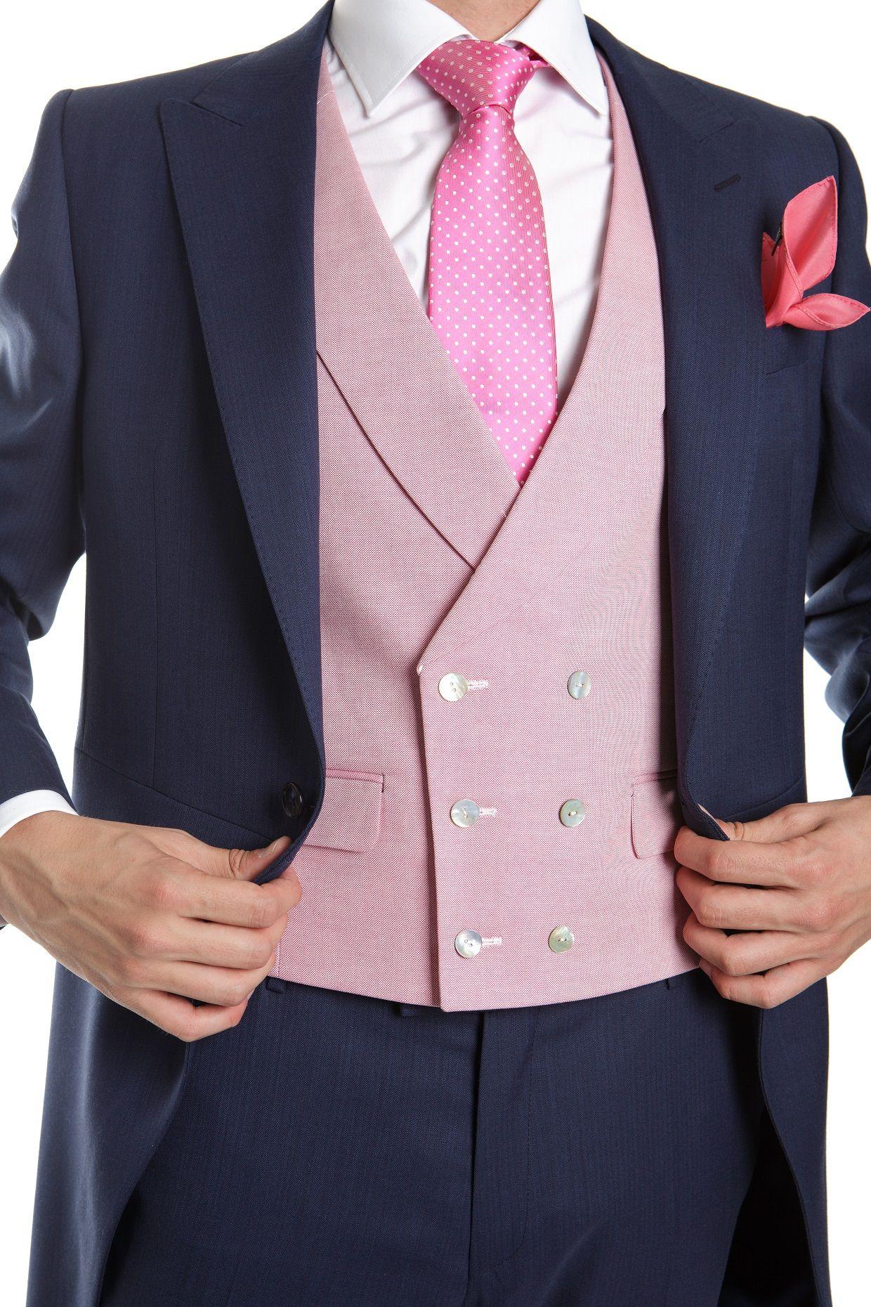 Chaleco rosa, un toque de color para tu boda en www.trajeria.es ...