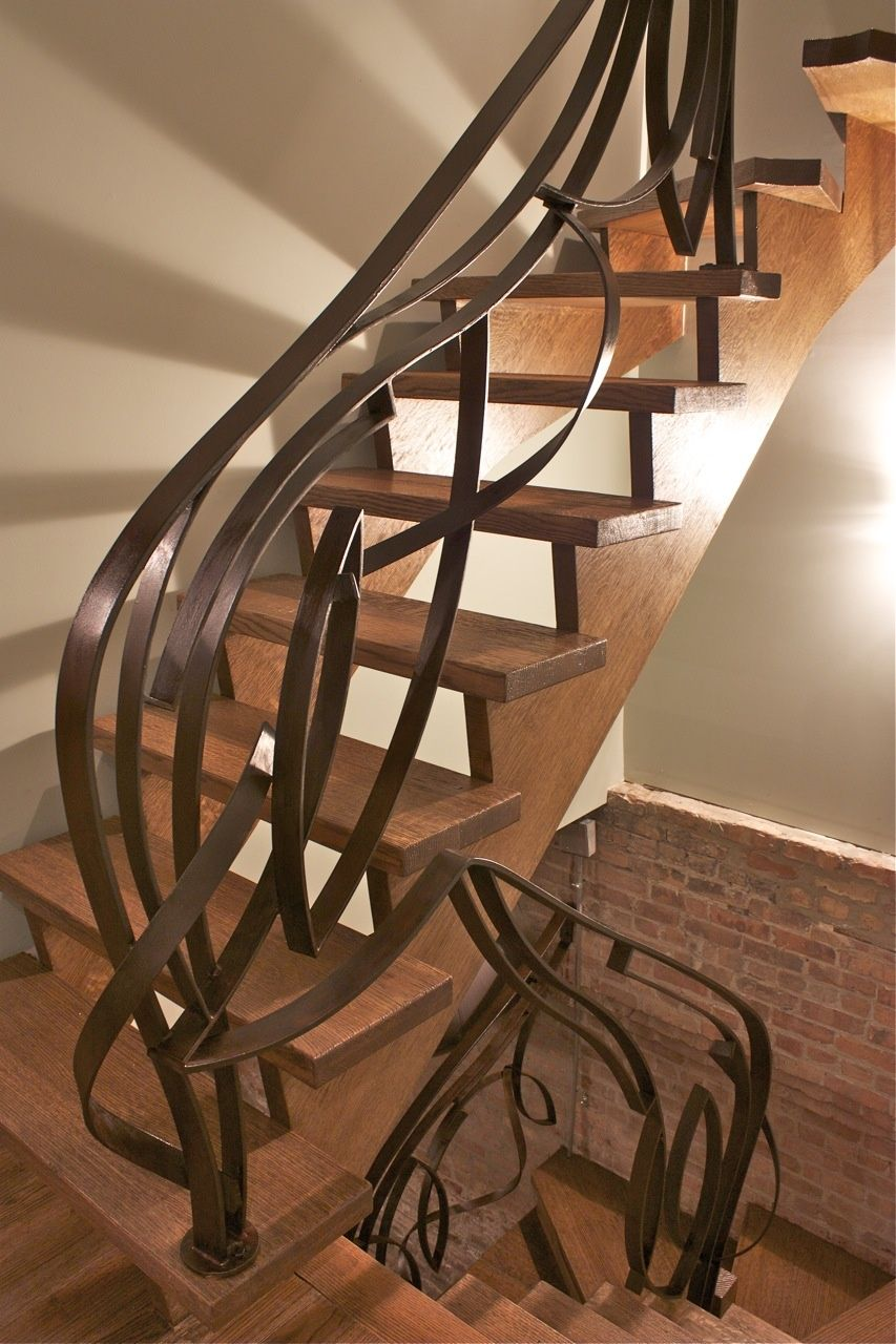 Custom Stairs Railings Design Chicago Usa Smg Treppen