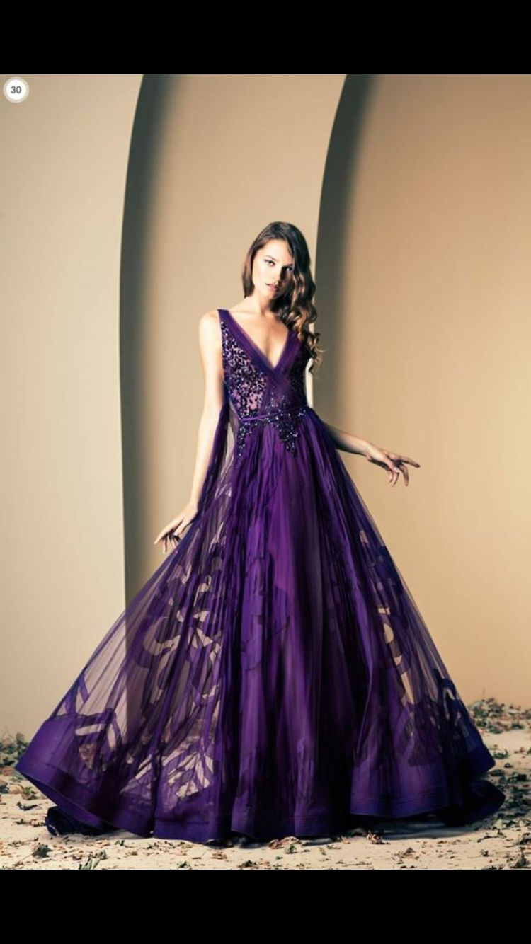 Pin By Martin Munguia On Goddess Purple Gowns Gowns Gowns Dresses