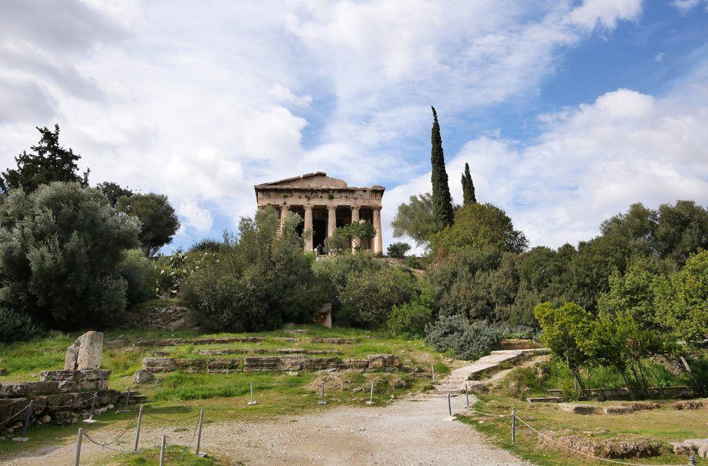 Hephaisteion Dans L Agora D Athenes Decouvrir Athenes En 2019