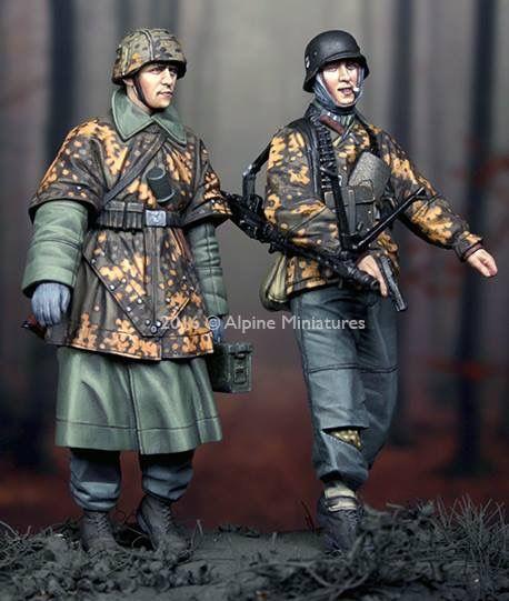 SS greandier kg Hansen Alpine Miniatures 35212 échelle 1:35