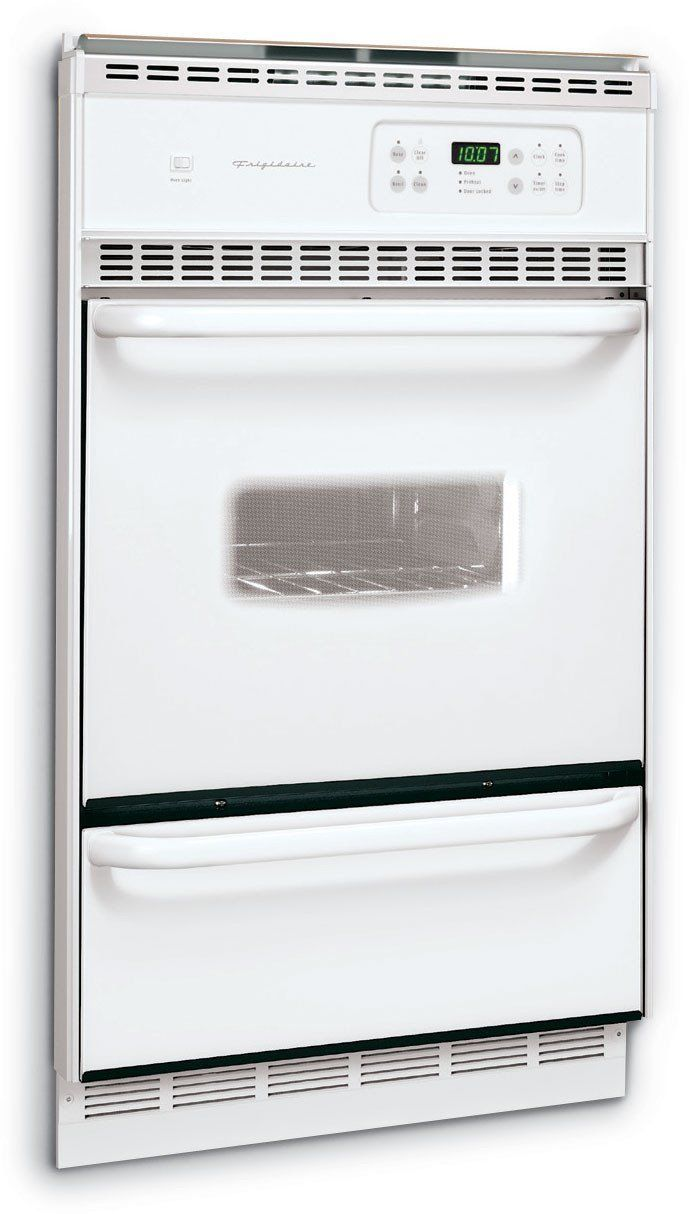 Gas Wall Ovens Reviews Frigidaire Fgb24s5as 24 Single Gas Wall Oven White Read More