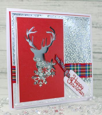 John Next Door Christmas Dies.Red Deer John Next Door John Next Door Xmas Cards