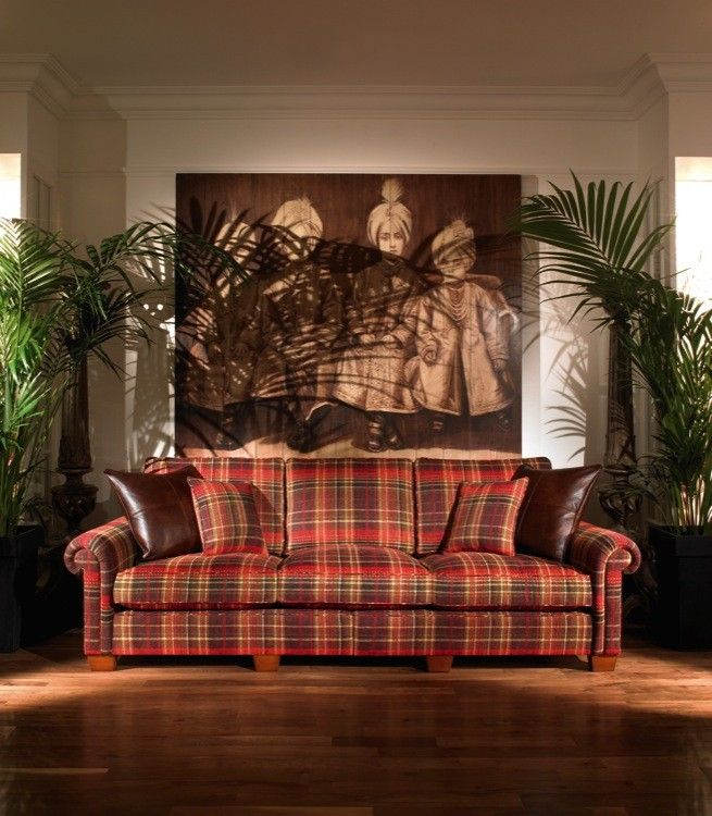Duresta plantation plaid leather  Plaid FabricSofa DesignLuxury FurnitureLiving  Room  Duresta plantation plaid leather   t a r t a n  p l a i d  . Plaid Living Room Furniture. Home Design Ideas