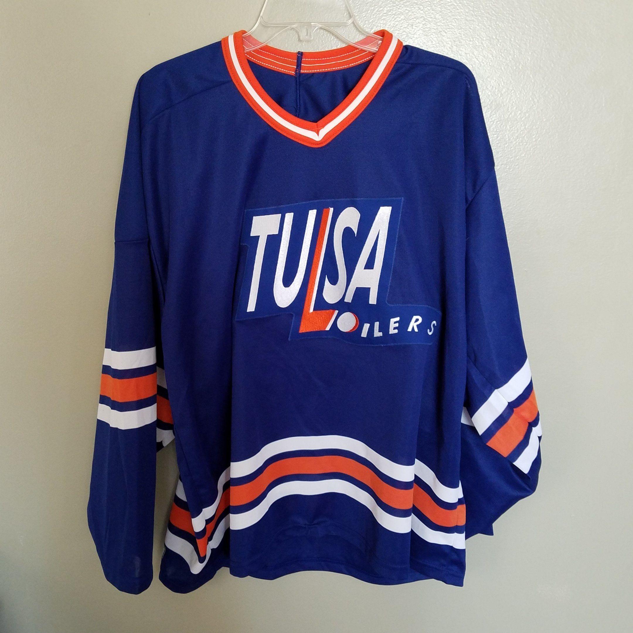 tulsa oilers jersey