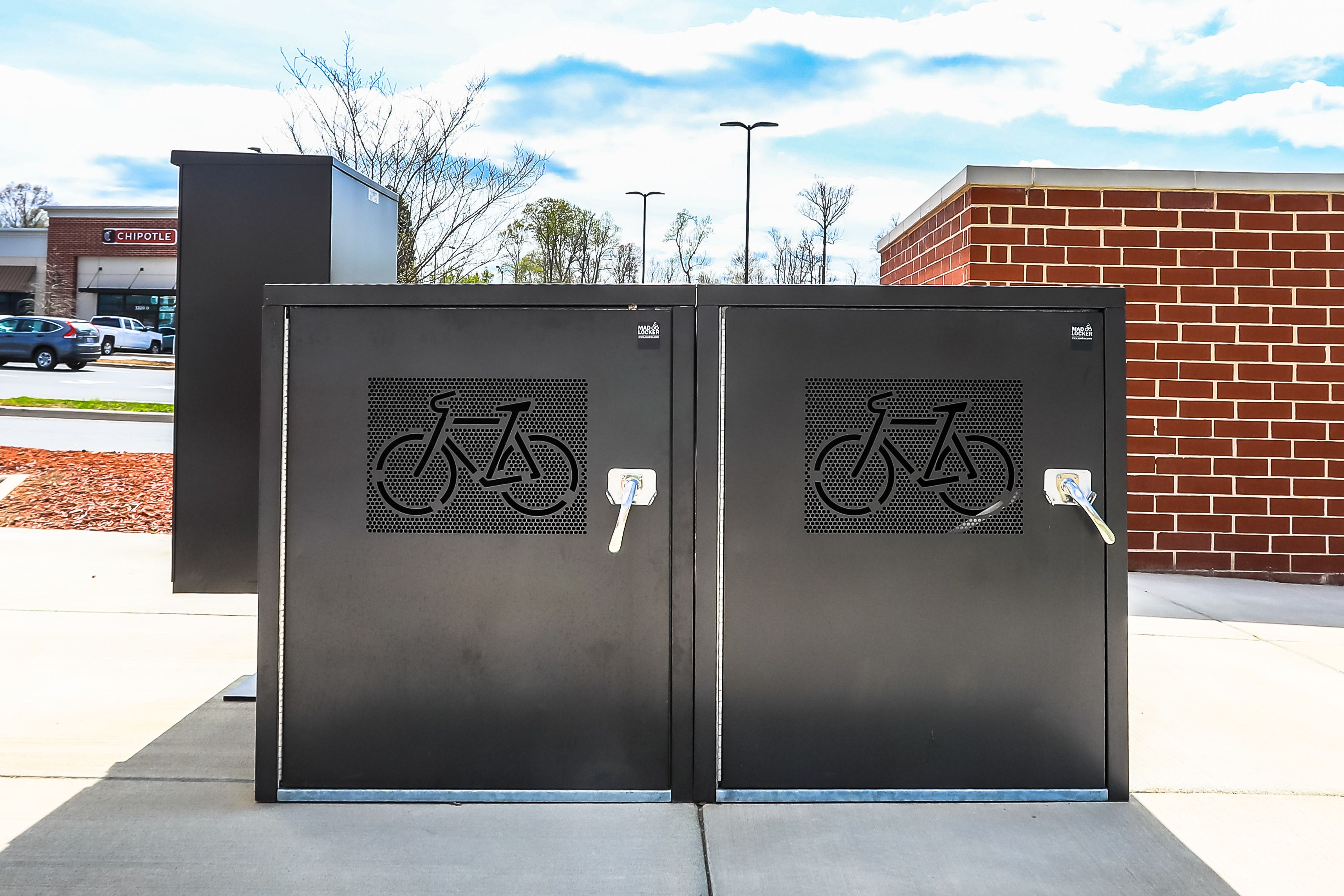 Bike Lockers Are An Excellent Way To Offer Long Term Bike Parking