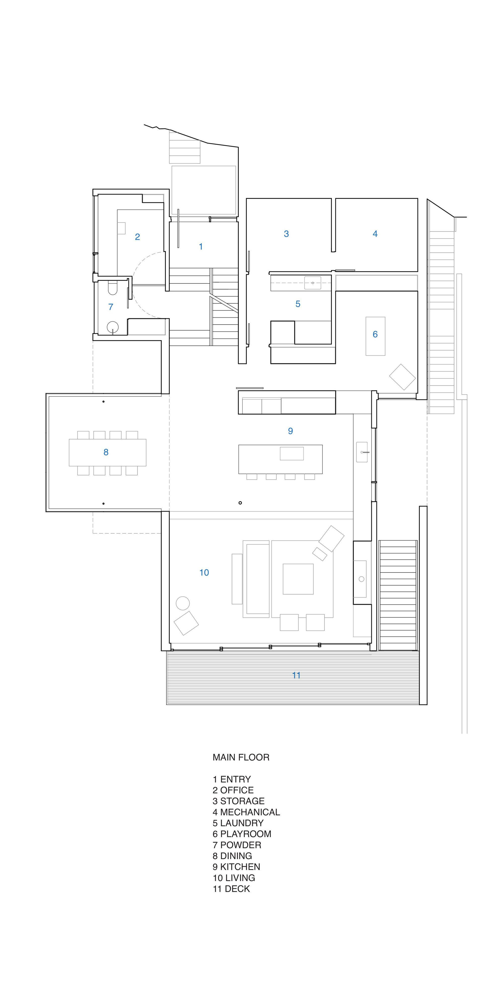 Gallery Of Russet Residence Splyce Design 21 Build My Own House Floor Plan Design Floor Plans