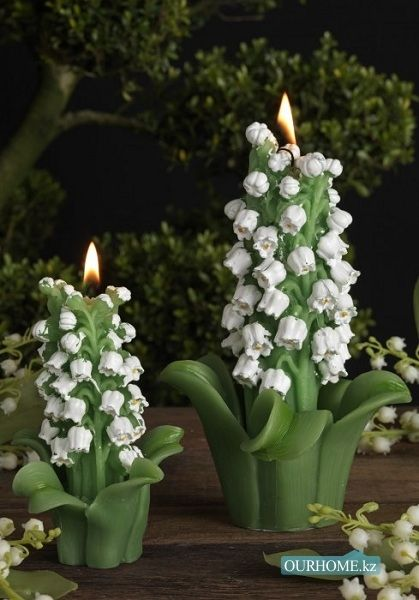 lily of the valley candles lilly of the valley pinterest