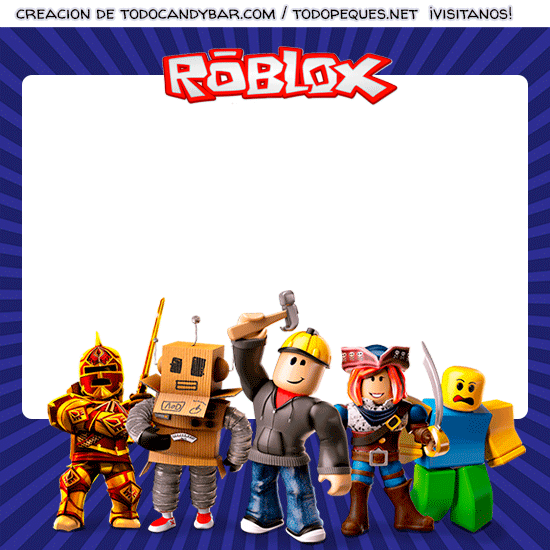 Descargar Roblox Gratis Kit Imprimible Roblox Descarga Gratis Todo Candy Bar En 2020 Kit Imprimible Imprimible Fiesta De Cumpleanos Para Ninos