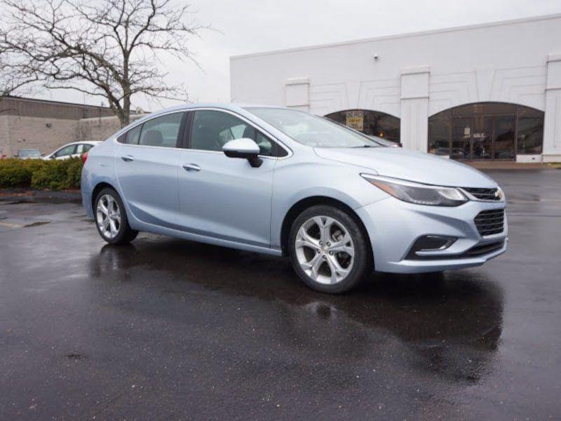 Used 2017 Chevrolet Cruze Premier Auto Sedan For Sale in