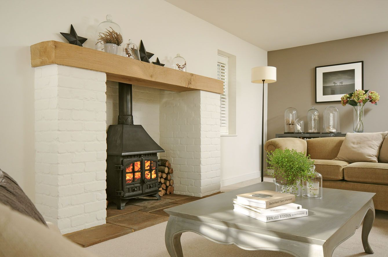 Best Calming Neutral Scheme Farrow Ball Wimborne White And 640 x 480