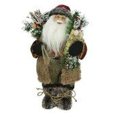 Found it at Wayfair - Country Rustic Standing Santa Claus Christmas Figure