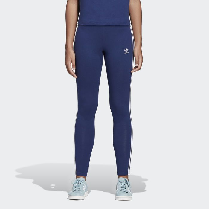 62409034a7 3-Stripes Leggings in 2019 | Products | Blue adidas shoes, Striped ...