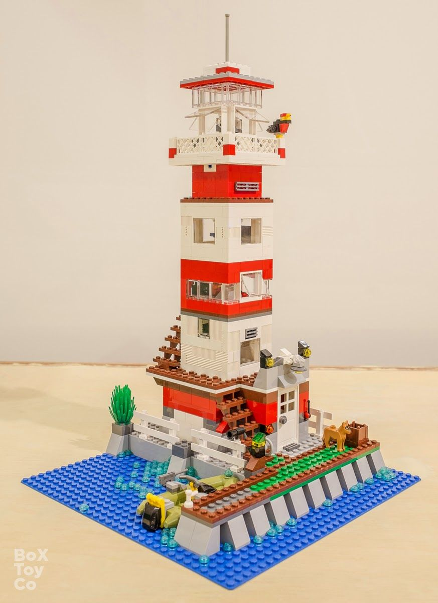 lego lighthouse google search lego pinterest lego haus lego und lego ideen. Black Bedroom Furniture Sets. Home Design Ideas
