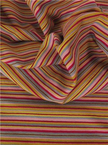 Stragier - Jersey Coton stretch - Melia - Multicolore