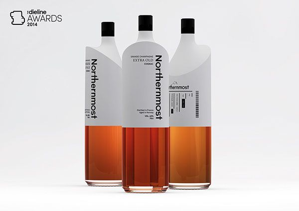 Northernmost Cognac On Behance, curated by Michael Paul Young on Buamai.