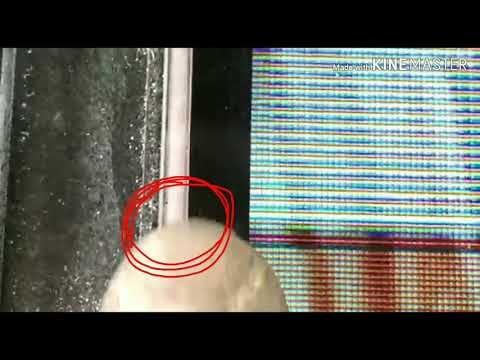 How To Repair Lines Blurred Display Problem Solved Youtube Repair Tv Panel Screen Repair