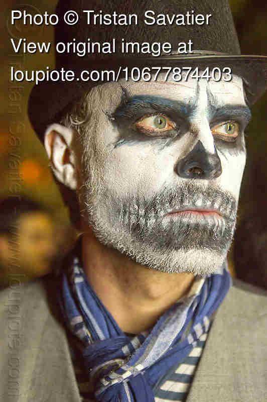 Skull Makeup For Man With Beard | Halloween | Pinterest | Skull Makeup Makeup And Costumes