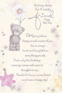 Special Friend Verses For Birthday Cards Birthday Cards Special Words Place Card Holders