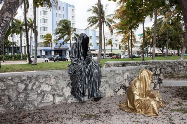 The Mysterious 'Guardians of Time' Land in Miami