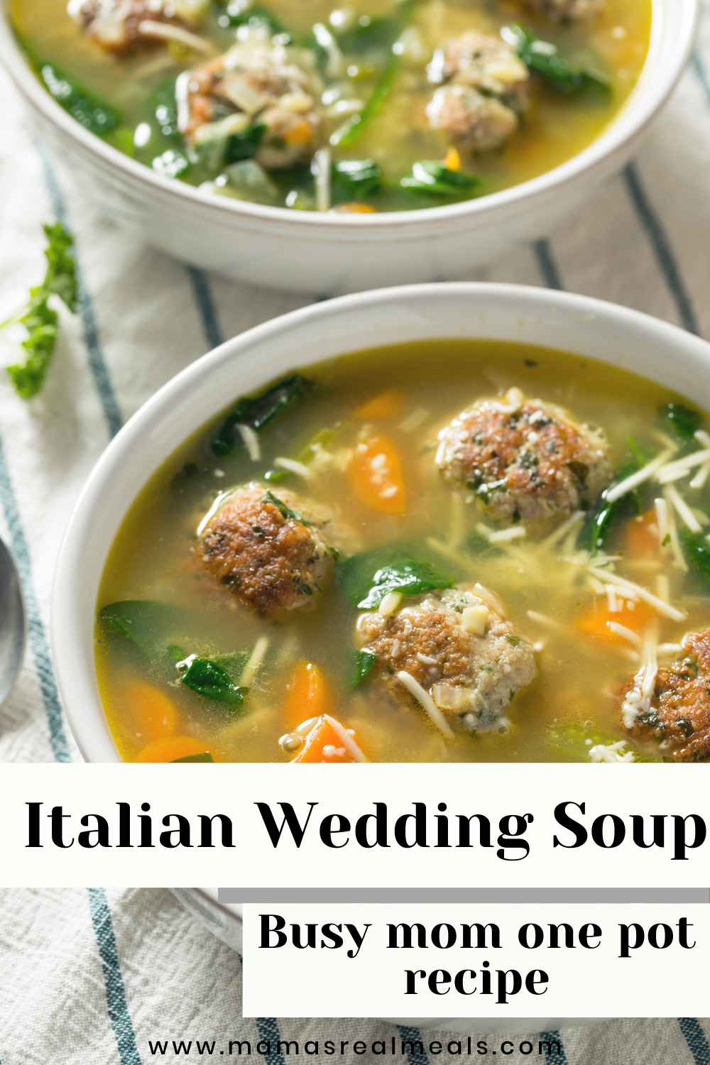 Quick And Easy Italian Wedding Soup Mama S Real Meals Recipe In 2020 Best Soup Recipes Italian Wedding Soup Healthy Soup Recipes